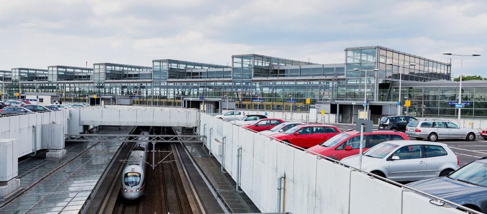 Parken Am Bahnhof Frankfurt